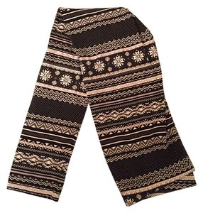 Romeo & Juliet Couture Black and White Leggings