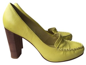 DKNY Yellow Pumps