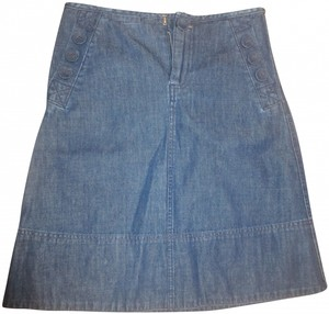 Marc Jacobs Midi Mini Jean Skirt denim