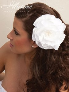 Illusions Bridal Flower Head Piece