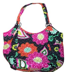 Vera Bradley Cresant Tote Purse Hobo Bag
