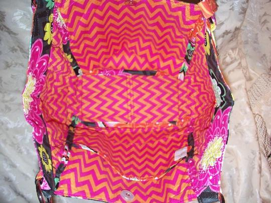 Vera Bradley Cresant Tote Purse Glenna Chevron Google Yahoo Shop Hobo Bag