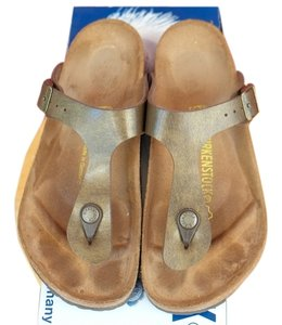 Birkenstock Golden Brown Sandals