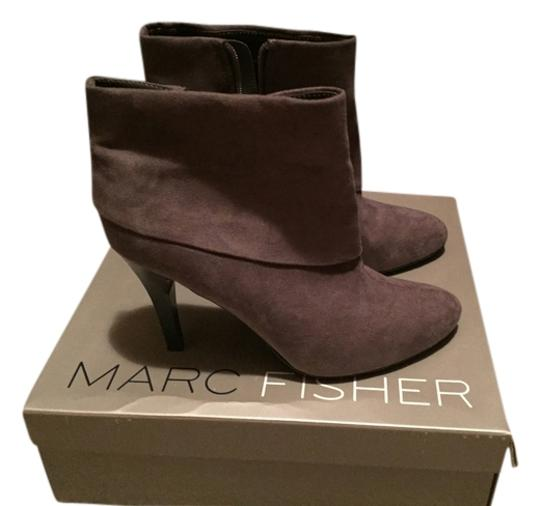 Marc Fisher Suede Grey Boots
