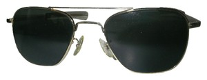 American Optical American Optical Pilot Sunglasses USA Gold Frame Gray Glass Lenses USA