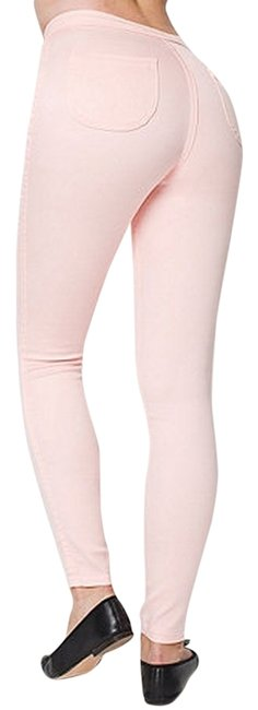 American Apparel High Waisted Stretchy Skinny Jeans