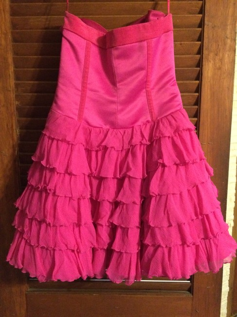 Betsey Johnson Strapless Sequin Ballerina Tulle Dress