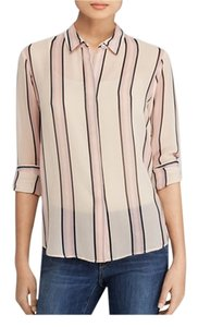 Theory Trend Trendy High End Fall Top Pink Multi
