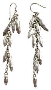 Kenneth Cole Kenneth Cole New York Silver Chili Pepper Dangle Drop Earrings