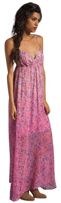 Pink Maxi Dress by Gypsy05 Floral Maxi