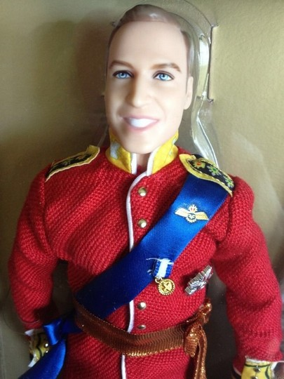 Gold Label Collector's Prince William & Catherine Royal Barbie Dolls