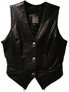 North Beach Leather Vest