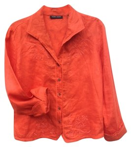 Valerie Stevens Top ORANGE