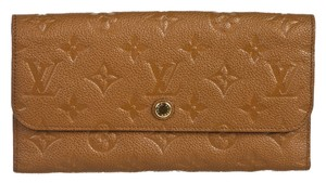 Louis Vuitton Louis Vuitton Tan Empreinte Leather Vitruose Wallet