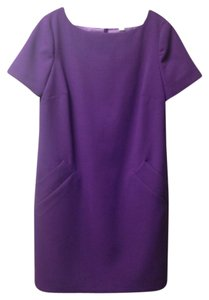 Liz Claiborne short dress Purple on Tradesy