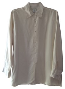 Express Button Down Shirt cream