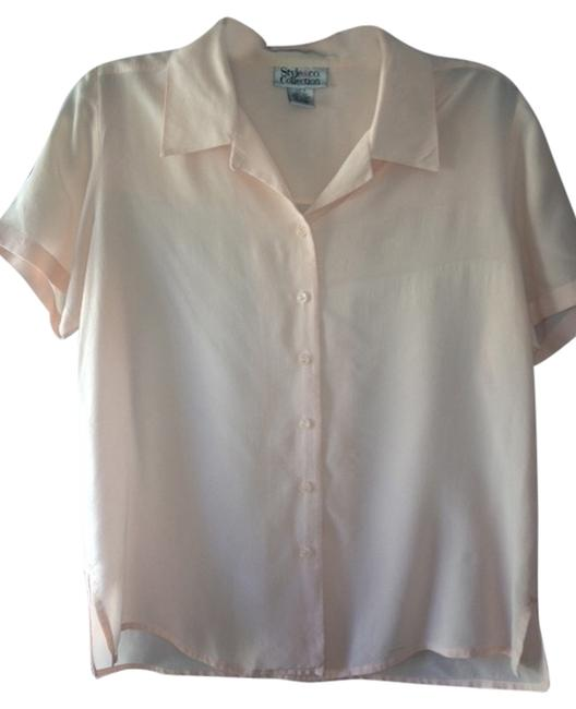 Style & Co Top pink light