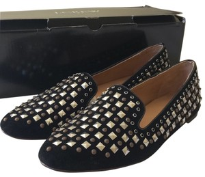 J.Crew Studded Smoking Slippers Flats