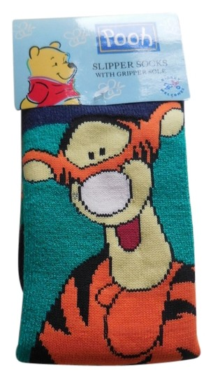 Other Tigger Slipper Socks with Gripper Sole