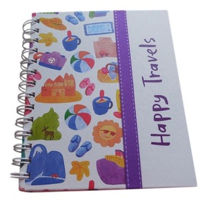 Happy Travels Travel Notebook