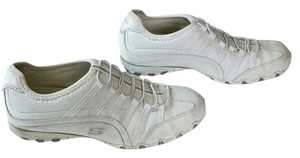 Skechers Work Skid Resistant Slip Resistant No Slip White Athletic