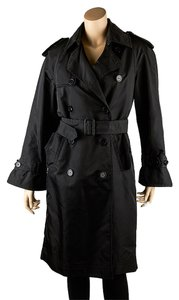 Oscar de la Renta Nylon Trench Coat