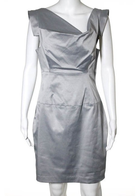 Black Halo short dress Silver Cocktail on Tradesy