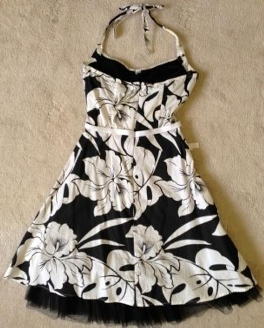 Rampage short dress Black and white on Tradesy