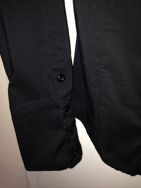 BCBGeneration Button Down Shirt Black