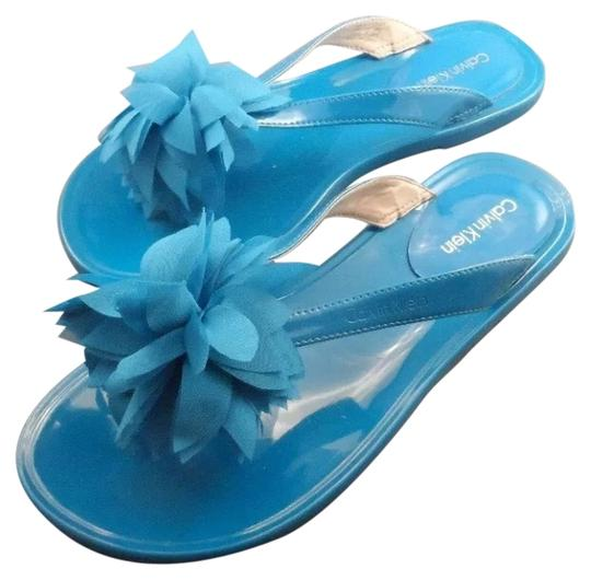 Calvin Klein Sky Blue Sandals