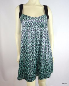 Molli And Mia short dress Purple York Ny Party In Wave Print Samantha 178 on Tradesy