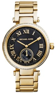 Michael Kors Michael Kors Women's Skylar Gold-Tone Stainless Steel Bracelet Watch 42mm MK5989