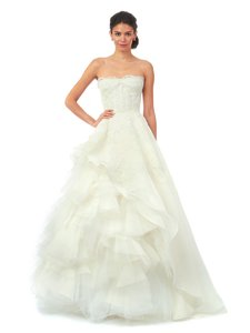 Oscar De La Renta Brynn 55n68 Wedding Dress