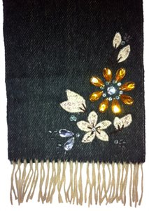 Echo Design Echo Design embellished scarf with fringe