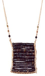 Nakamol Chocolate Boho Necklace