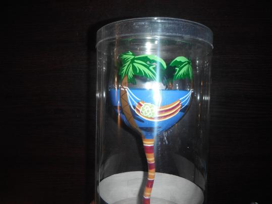 Other Hand Painted Palm Tree Wine Glass