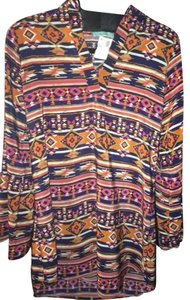 Karlie short dress Bell Sleeved Aztec Dress on Tradesy