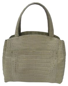 Nancy Gonzalez Tote in Gray (Taupe)