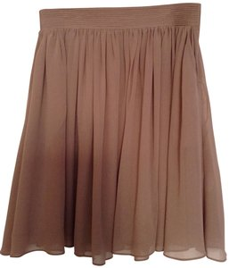 Reiss Skirt Tan