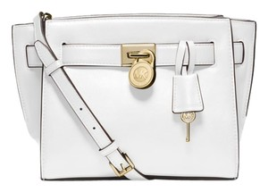 Michael Kors Optic White Messenger Bag