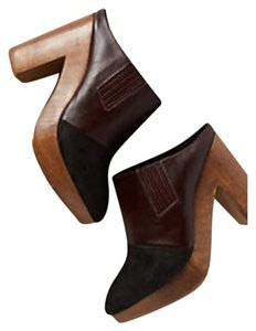 Rachel Comey- Anthropologie Black and Brown Wedges