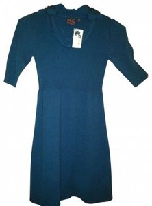 Takeout short dress Varsity Blue on Tradesy