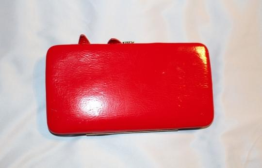 Forever 21 Forever 21 red bow wallet/clutch