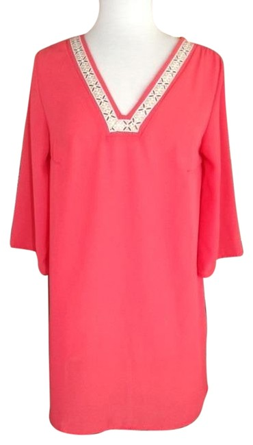 Sincerely Mary short dress Coral on Tradesy