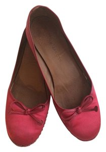 Marc Jacobs Silk Red Flats