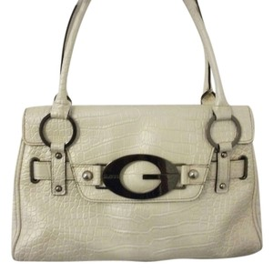 Guess Pewter Shoulder Bag