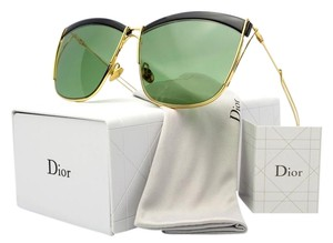 Dior Dior So Electric 58MM Square Sunglasses Black/Gold