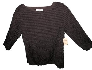 Coldwater Creek Soft Ruffles Pullover Sweater