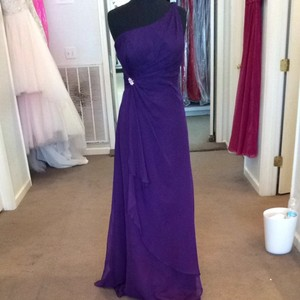 Mori Lee Grape Dress