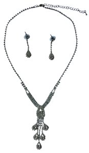 Other Sparkling Necklace with Matching Earrings